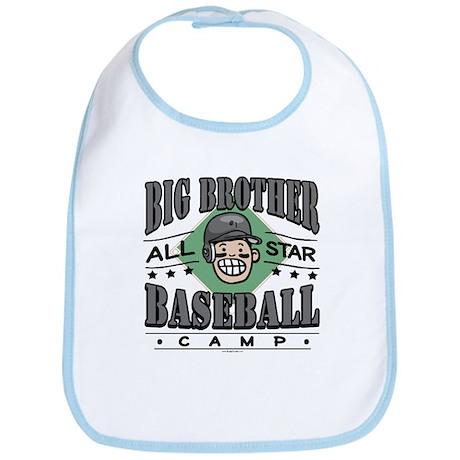 Big Brother Baseball Black Bib