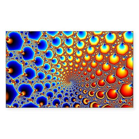 Hypnotic Portal Sticker (Rectangle)