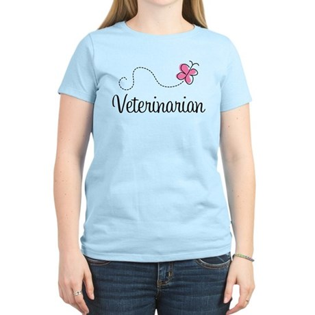 Cute Veterinarian Women's Light T-Shirt
