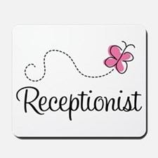 Cute Receptionist Mousepad