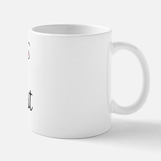 Cute Receptionist Mug