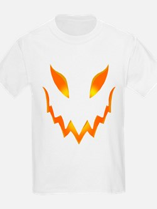 Evil Pumpkin smile - T-Shirt