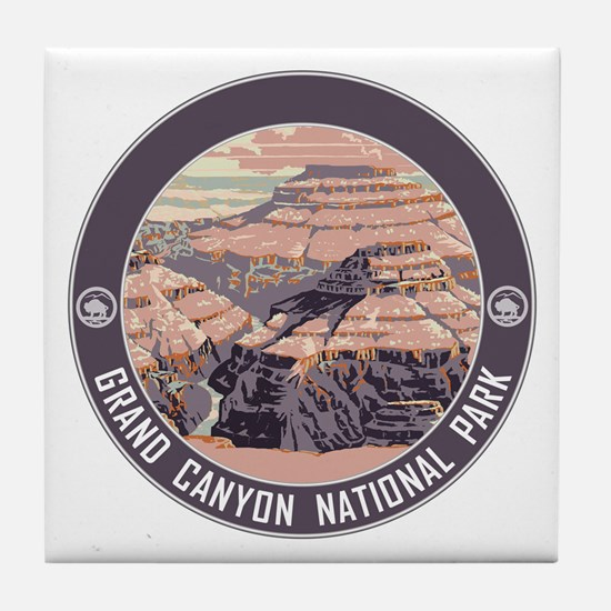 Grand Canyon NP Tile Coaster