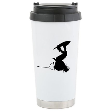 Wakeboard Inverts Stainless Steel Travel Mug