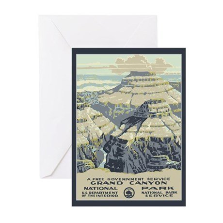 Grand Canyon NP Greeting Cards (Pk of 20)