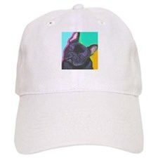 Black French Bulldog Baseball Cap