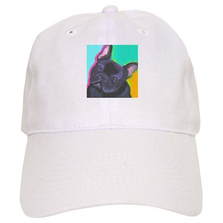 Black French Bulldog Cap
