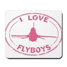 Flyboys F-16 -pink Mousepad