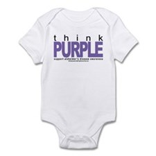 Think Purple Infant Bodysuit