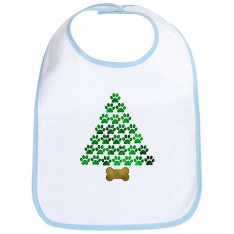 Dog's Christmas Tree Bib