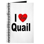 I Love Quail Journal