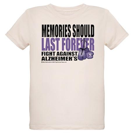 Memories Last Forever Organic Kids T-Shirt