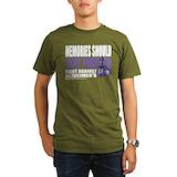 Alzheimers awareness Organic Men's T-Shirt (dark)