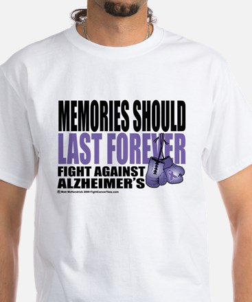 Memories Last Forever White T-Shirt