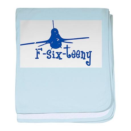 F-six-teeny -blue Infant Blanket