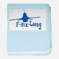 F-six-teeny -blue Infant Blanket