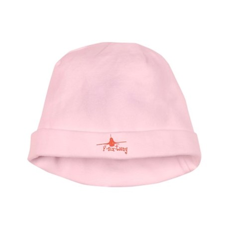 F-six-teeny -pink Infant Cap