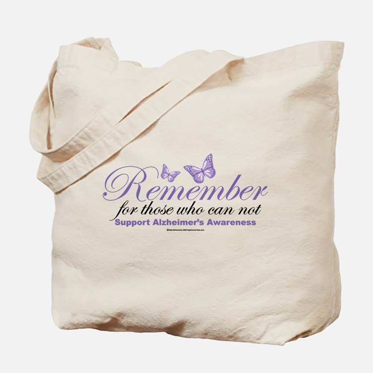 Remember Alzheimer's Tote Bag