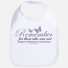 Remember Alzheimer's Bib