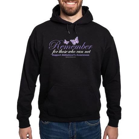 Remember Alzheimer's Hoodie (dark)