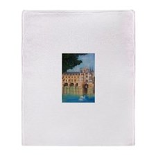 Chenonceau Castle -- Throw Blanket