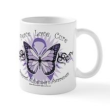 Alzheimer's Tribal Butterfly Mug