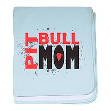 Pit Bull Mom Infant Blanket