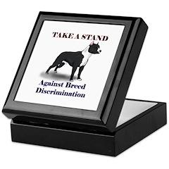 Take a Stand B&W Keepsake Box