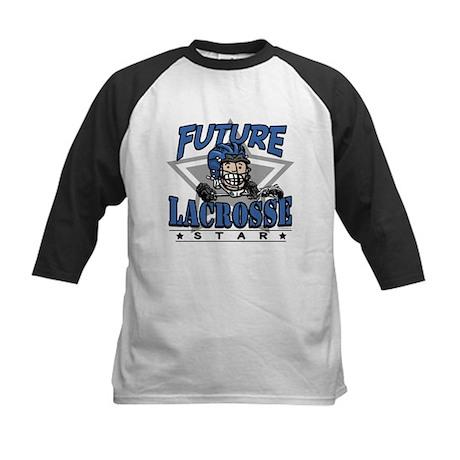 Future Lacrosse Star Blue Kids Baseball Jersey