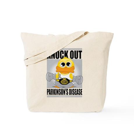 Knock Out Parkinson's Disease Tote Bag