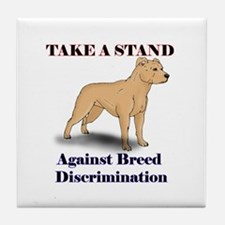 Take a Stand Uncropped Tile Coaster