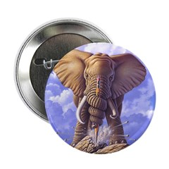 "Elephant 3 2.25"" Button"
