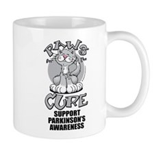 Parkinson's Disease Paws For Mug