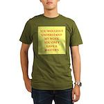 phd joke Organic Men's T-Shirt (dark)