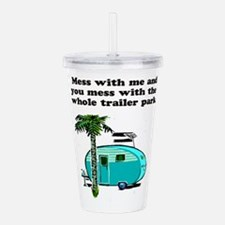trailer park.png Acrylic Double-wall Tumbler