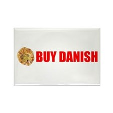 Buy Danish Pastry Rectangle Magnet