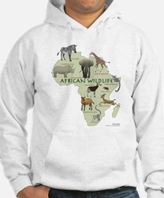 african wildlife Jumper Hoody