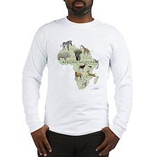 african wildlife Long Sleeve T-Shirt