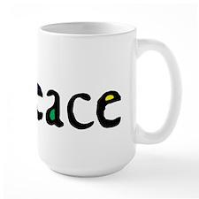 Flowing 'Peace' Color Mug