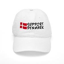 Support Denmark Baseball Cap