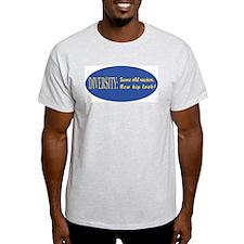 Same old racism Ash Grey T-Shirt