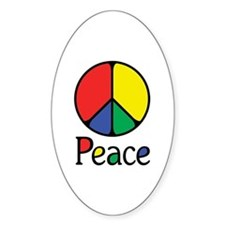 Emphatic Peace Colours Decal