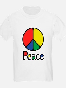 Emphatic Peace Colours T-Shirt