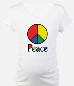 Emphatic Peace Colours Shirt