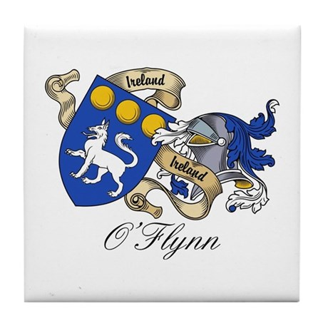 O'Flynn Family Coat of Arms Tile Coaster