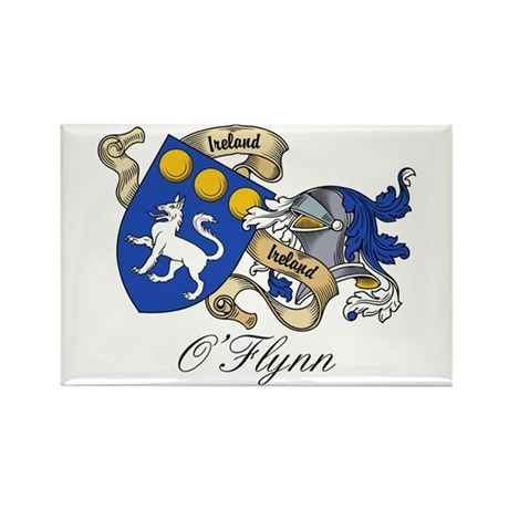 O'Flynn Family Coat of Arms Rectangle Magnet (100