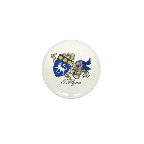 O'Flynn Family Coat of Arms Mini Button (10 pack)