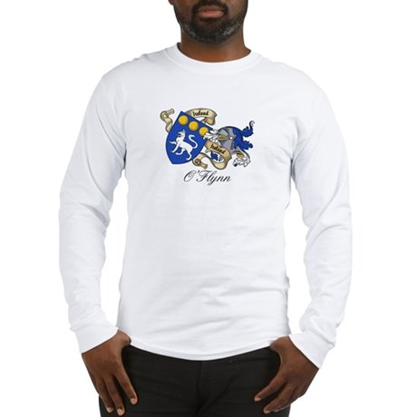 O'Flynn Family Coat of Arms Long Sleeve T-Shirt