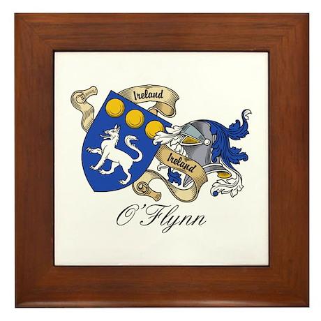 O'Flynn Family Coat of Arms Framed Tile
