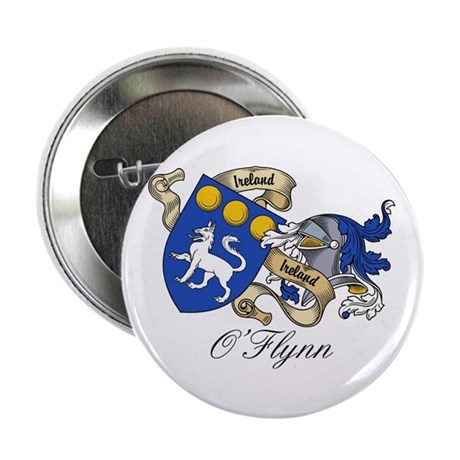 """O'Flynn Family Coat of Arms 2.25"""" Button (10 pack)"""